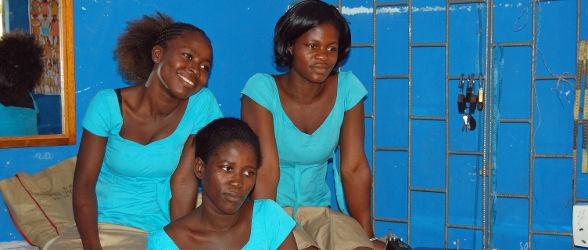Le programme ''Où est le Bon Samaritain aujourd'hui'' se transporte dans les ateliers de couture et de coiffure au Togo
